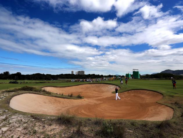Player pleased as golf thrives on Olympic stage despite high-profile withdrawals